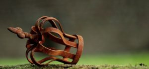 A rusted crown