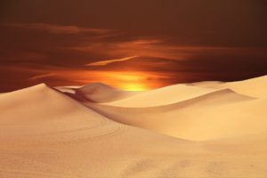 Picture of a beautiful desert