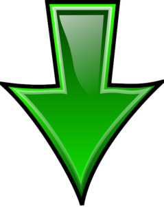 Green arrow pointing down
